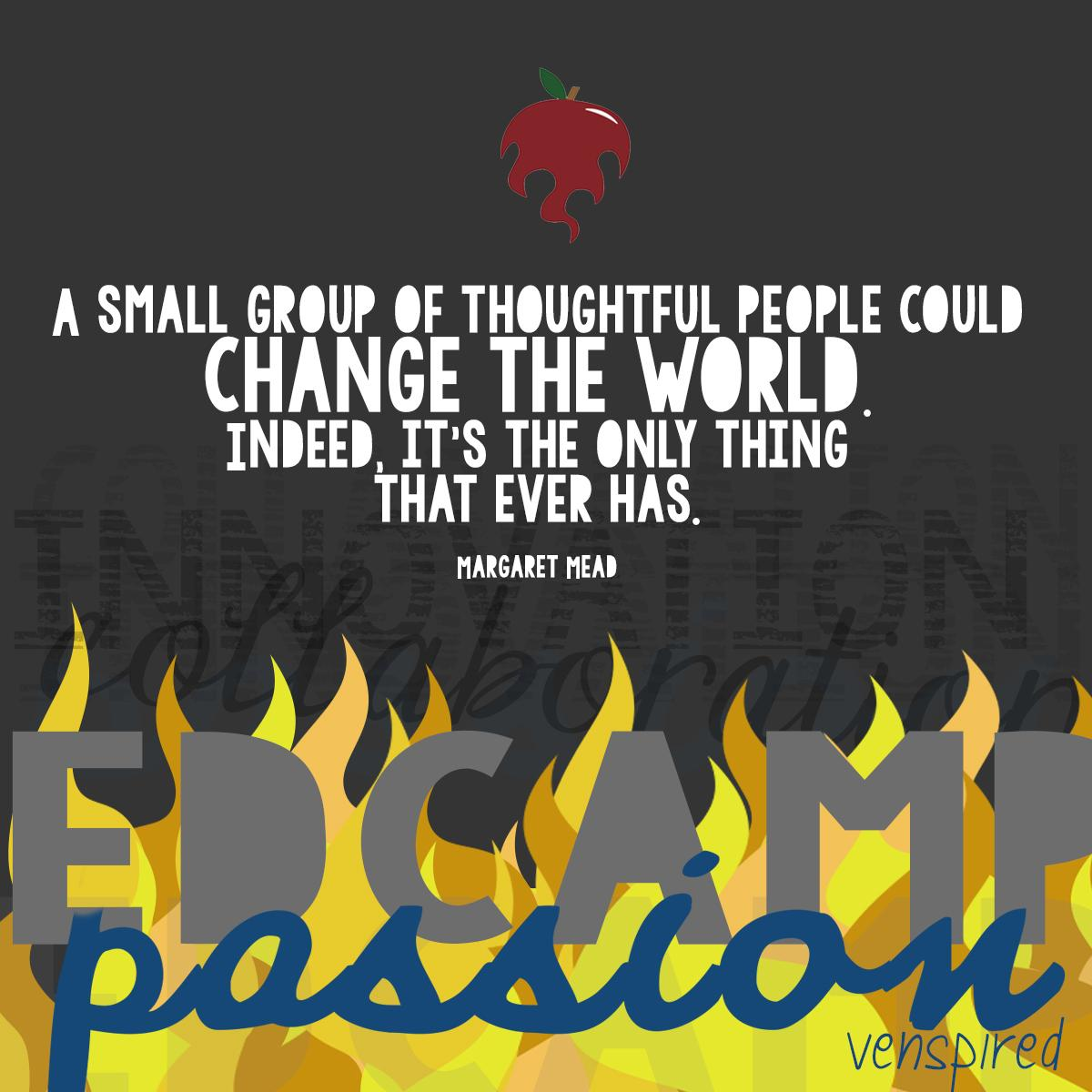#Edcamp is that little reminder, in spite of  odds against us, we can make education better. Together.  #satchat http://t.co/HDMsPUPL4B