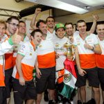 ¡Seguiré en Sahara Force India este 2015! / I'll continue in @clubforce for the 2015 season! #NeverGiveUP http://t.co/ZCHmHQXSov