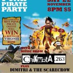 PUNK || its on tonight! The @Chikwata263 reunion at @BookCafe_Harare! #punks #pirates #rum #twimbos #263chat http://t.co/jqv0gqIfR1