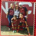 #VamosSporting #SoyRojinegro. Todos vestidos de @sportingsm! http://t.co/aISCoMaIhQ