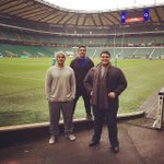 Fresh off the plane from NZ and into Twickenham Stadium to soundcheck for tonights England vs Samoa game! #GoTheManu http://t.co/ypzmWtbjJC
