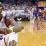 Lil B says he loves Kevin Durant but admits injury is due to Based Gods Curse. Pray for KD. http://t.co/1ZncODID02 http://t.co/HaVXTCb46f