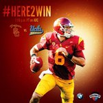 Game day has finally arrived, and the Trojans are #Here2Win the #UltimateRivalry. #ItsGood2Be USC! #FightOn http://t.co/pMptOWQo6H