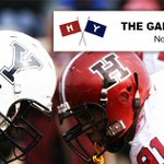 Its on!! The oldest rivalry in college sports The Game today at Harvard Stadium #GoCrimson #BeatYale http://t.co/CGd8ZnJya6