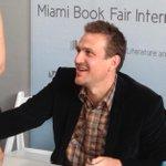 Muppet AmIAMuppetOrAMan actor & author David Segal @MiamiBookFair http://t.co/JzYEcjcRx0
