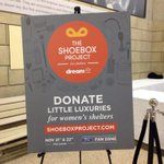 Going to the @MapleLeafs game tonight? Donate to womens shelters with @shoeboxcanada #Leafs #TMLtalk #Dream http://t.co/f8MsLQ0FGa