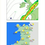 Tomorow a front will bring rain to SE #England. Improving in #Wales. Best in the afternoon with sunshine for most :) http://t.co/dtdNSI4gj2