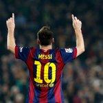 Y pensar que hay gente que todavía duda de tu grandeza. Enorme Lionel. Orgullo Argentino.El mejor del mundo #Messi253 http://t.co/Xhy3fZKU9h