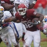 Move over, Melvin Gordon. Samaje Perine just broke Gordons FBS single-game rush record with 427 yds today #KUvsOU http://t.co/jPm4g6KyNR