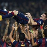 Messi becomes the greatest scorer in La Liga history as Barcelona rout Sevilla http://t.co/qlpwYqSdL1 http://t.co/xlFomviv8z