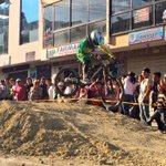 Adrenalina al máximo con la competencia de downhill en #Loja. http://t.co/NSzByANQUv