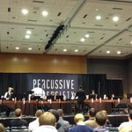 Great Showcase Concert Hector Gil (former TCU staff) & the Artie Henry Middle School Percussion Ensemble #PASIC14 http://t.co/G9Dv26Smx4