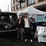 You haul furniture, these guys haul turkeys - 65 in 1 drop. Keep em coming #SanFrancisco! #HopeForTheHolidays http://t.co/DRI0WlDS67