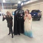 Omg!!! Darth Vader is here too!! @LethToyota @lethbridgeexpo http://t.co/n1WNfok7Bo