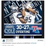 ODU wins in overtime! http://t.co/mASbm9A54k