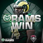 Your nationally ranked #CSURams are 10-1 on the season with a 58-20 victory over the Lobos http://t.co/Vtj4BuO4rR
