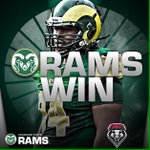 Business as usual, No. 22 @CSUFootball puts it to New Mexico 58-20. Dee Hart with 5 TDs! #CSURams http://t.co/5906H4jtt9