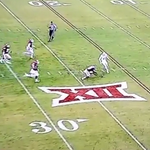 VIDEO: Kansas punter botches the snap, decides he has no interest in recovering the fumble http://t.co/gOh1YrrW56 http://t.co/0Li1SLmqa7