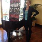 RT @BeingUnraveled: Awesome #FutureOfGod interview yesterday with @DeepakChopra!