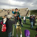 Jack Miller and @BamBam_Blake23 celebrating the CSU rout of New Mexico http://t.co/b24mVh8j2X