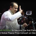 Rahat Fateh Ali Khan to become first Pakistani to perform at Nobel Peace Prize Concert http://t.co/kMNuGbDbsy http://t.co/EY8firJCvP
