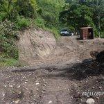 Trabajos de Corrección de Falla de Borde. Curva la Cucaracha. Local 2. Mcpio Montes. Edo Sucre. MPPTTOP SUCRE http://t.co/WnOkjS3JNk