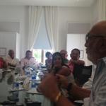 """""""El periodismo no puede perder el ingenio para contar las noticias"""", Juan Gossaín. #TallerdeRadio http://t.co/4dTFfOn14o"""