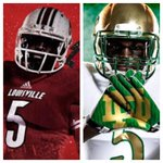 Who will come away with a victory today in South Bend? RT for Louisville #L1C4 FAV for Notre Dame #NotreDame http://t.co/ewZ6zH3mAQ