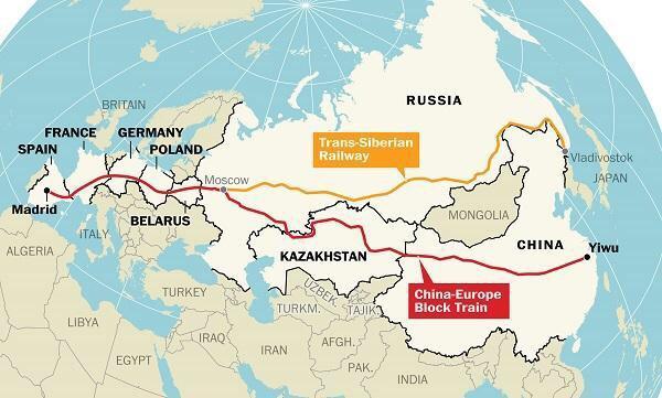 S'inaugura el tren de mercaderies Yiwu-Madrid, q supera el Transiberià com a ruta més llarga http://t.co/aar0izV8Jg http://t.co/WvS8Ky7L3U