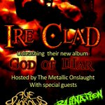 Join the @IreClad CD release party TONIGHT with special guests Age Of Shadows and Ruination! #Twithaca http://t.co/m0j3wzjpOW