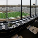 A very overcast final home game of the season for @NDFootball http://t.co/Nxg8dYvrfI