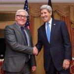 .@JohnKerry met with #Germany FM Steinmeier in Vienna, Austria today for #IranTalksVienna. http://t.co/wrRrKve5T0 http://t.co/tmf2AbjQny