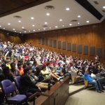 #WildHacks opening ceremonies are in full swing. Hope you got here early--its standing room only! @NUWildHacks http://t.co/YstoDfzIi7