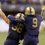 In Honor of senior day I will be wearing #38 today for my brother JoJo. #SeniorDay #GoIrish !🙏🍀🍀🍀🍀🍀 http://t.co/lrdPf9zFbA
