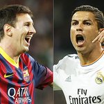 Since CR7 arrived in Spain > Messi: 284 goals in 279 official matches CR7: 276 goals in 264 official matches http://t.co/jH4FaDW9Gt