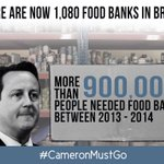 #CameronMustGo because food poverty shouldnt be an issue in Britain in 2014. http://t.co/IRG1PCfwts