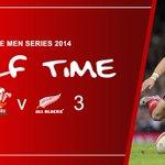 HT Wales 3 - 3 New Zealand http://t.co/Zm9VcXZDWD