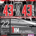 "@gilius_22: #Verfollow Caminata #22NovMX #43x43 #Cardel a #Veracruz #YaMeCanse http://t.co/eF5vH2IVA5"" @JohnMAckerman"