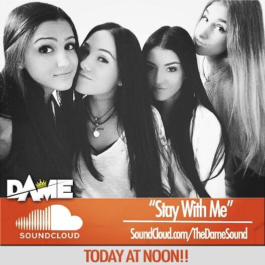 "Make sure you checkout @TheDameSound's cover of Sam Smith's ""Stay With Me"" https://t.co/qkzfCsycmU"