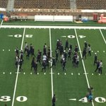 Irish on the field two hours to kickoff. countdown to kickoff coming your way at 2pm on WNDU. http://t.co/kSb6RR4B8l