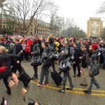 Card March South Bend style  🏉 @CardChronicle #L1C4 #GoCards #BeatNotreDame #CardNation #UofL #Louisville #GameDay http://t.co/6ZHGxaMAhu