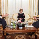 .@JohnKerry, Baroness Ashton, and #Iran FM @JZarif discuss the future of Irans nuclear program in Vienna, Austria. http://t.co/hAPPQvXwTE