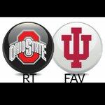 Whos going to win this game?  RT for Ohio State #Buckeyes Fav for Indiana Hoosiers  #IUvsOSU #BuckeyeNation #GoBucks http://t.co/zIxEaRuQlb