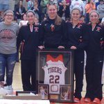 #LaurenHill has her jersey retired at Lawrenceburg HS #layup4lauren #onemoregame http://t.co/AQNKsUO1Ja