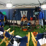Heres what the @WNDU Countdown to Kickoff guys see. Live from ND Stadium at 2pm! http://t.co/aDbpnNNPpM