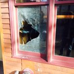 Someone smashed out the @WildBuffalo window this morning. Did anybody see who did it? #Bellingham (RT) http://t.co/5si4zMPGvn