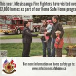 #Mississauga Fire Fighters visited over 32,800 homes through our Home Safe Home program http://t.co/huZtGRsnSy http://t.co/1T4TiGXgT1