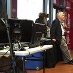 . @WalterIsaacson at presentation by Steven Pinker [@sapinker] @MiamiBookFair #MBFI #MBFI31 @BookViewNow http://t.co/bsvz8PzOPv
