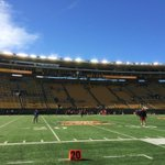 Youd never even know it was raining this morning. What a beautiful day in Berkeley for some football! #BigGame http://t.co/80Mb5KTVpe
