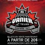 .@UMontreal @Carabins 50e Coupe Vanier @TELUS. Billets en vente maintenant http://t.co/HF7pf6oRFp #Vanier50 http://t.co/MSPrIVaKcG